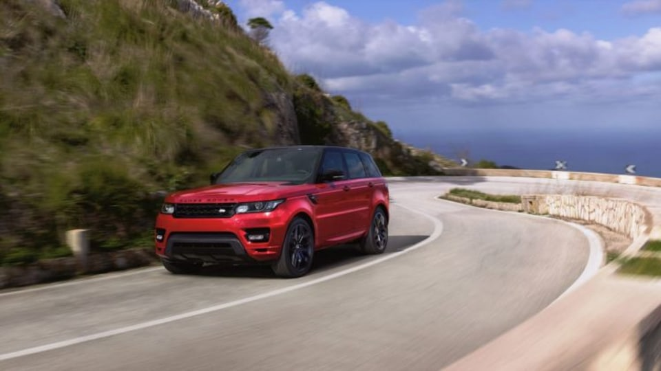 The new Range Rover Sport HST model headlines the upgrades for 2016.