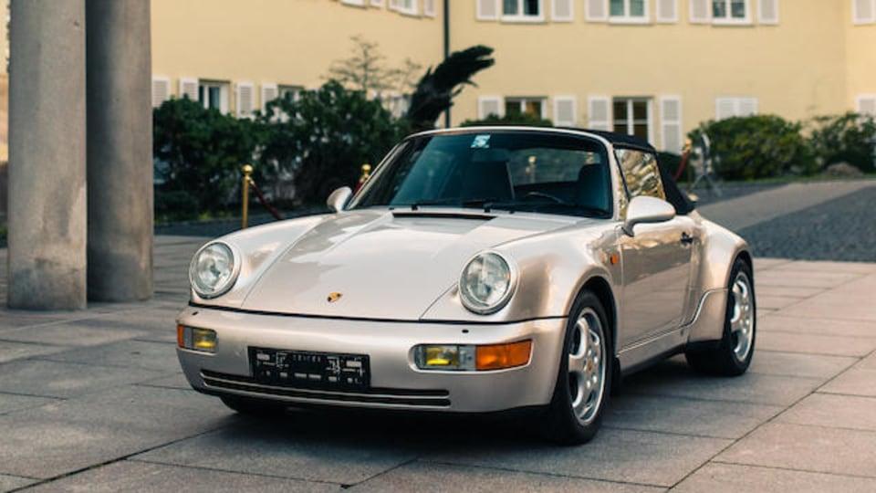 Diego Maradona's 1992 Porsche 911 goes to auction
