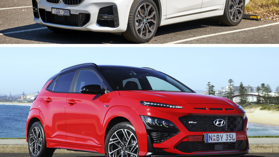 Hyundai Kona VS BMW X1 Spec Comparison