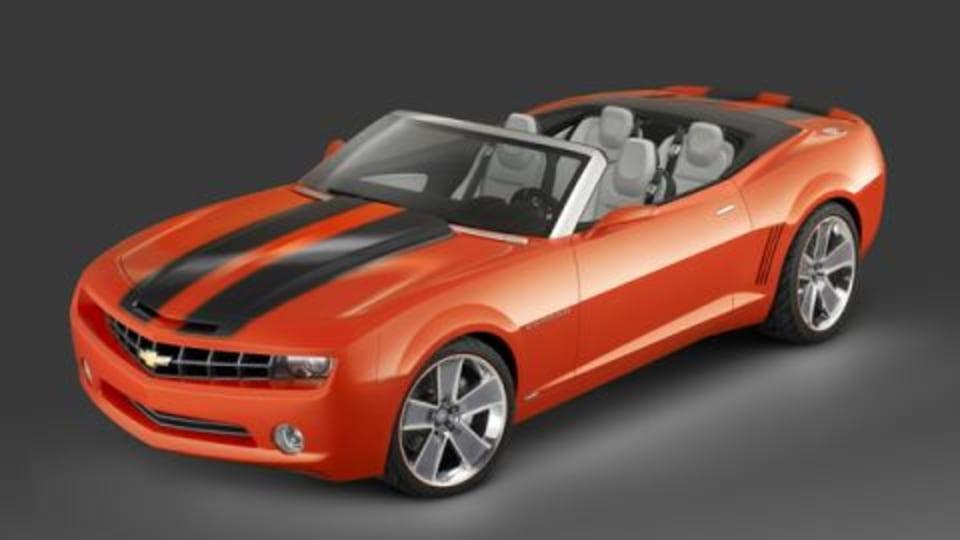 Chevrolet Camaro Convertible 'On Hold'