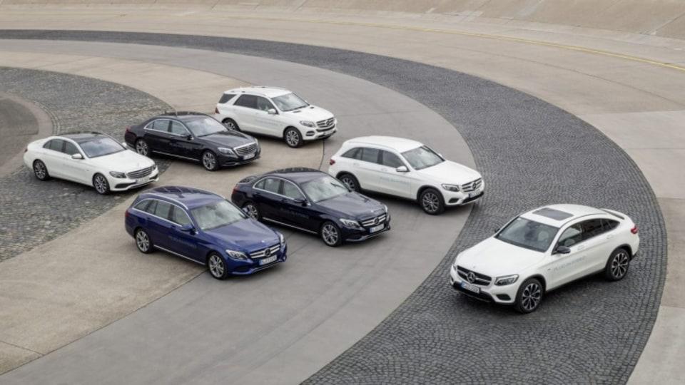 Mercedes-Benz range of plug-in hybrid models.