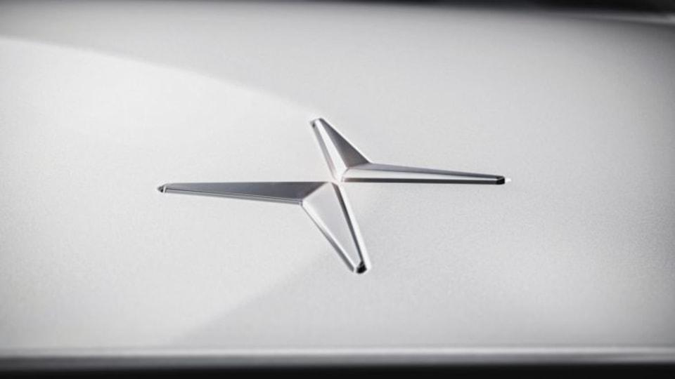 The new Polestar logo for Volvo's performance car division.