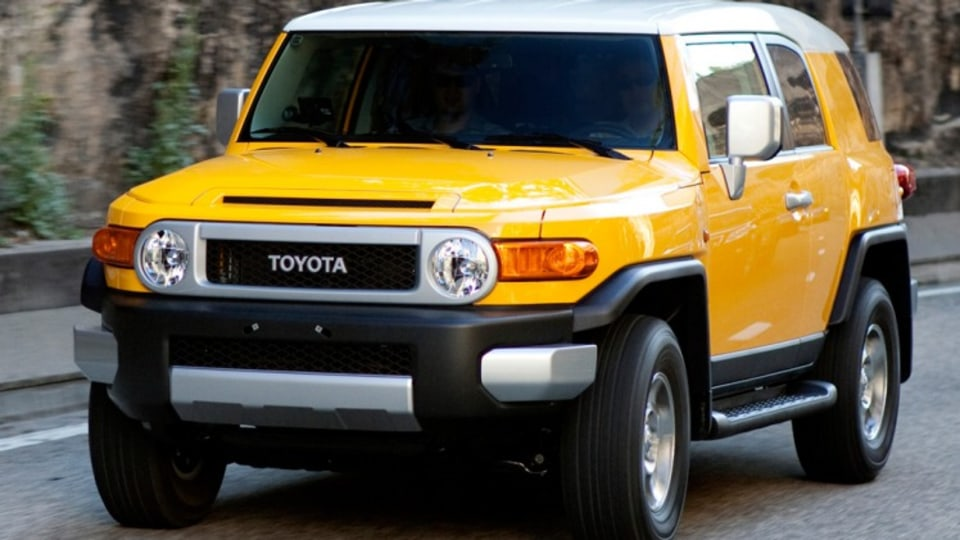 Toyota's retro styled FJ Cruiser joned the line-up this year.
