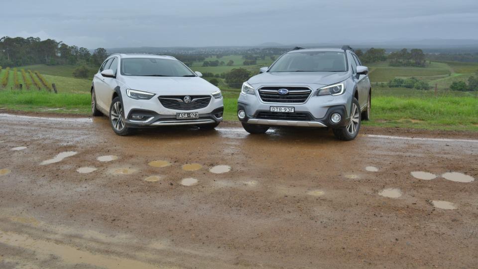 Crossover Crossroads – Holden Calais V Tourer v Subaru Outback 3.6R Comparison Test