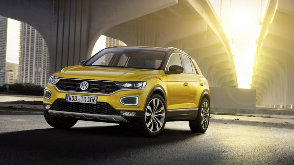 Volkswagen T-Roc Small SUV Revealed Ahead Of Frankfurt Motor Show