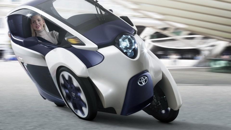 Toyota i-Road City Concept Revealed Ahead Of Geneva