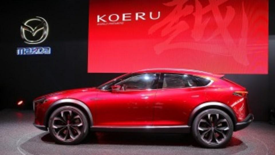 Mazda's Concept car, the Koreu.