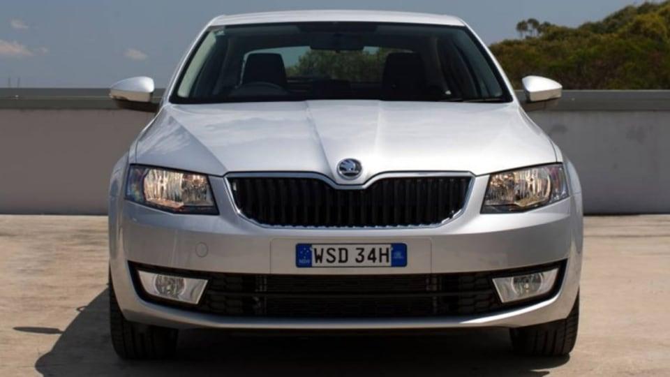New Skoda Octavia sedan.