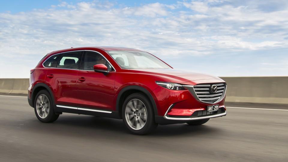 2018 Mazda CX-9.