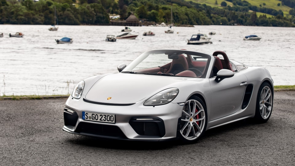 2019 Porsche 718 Spyder Review