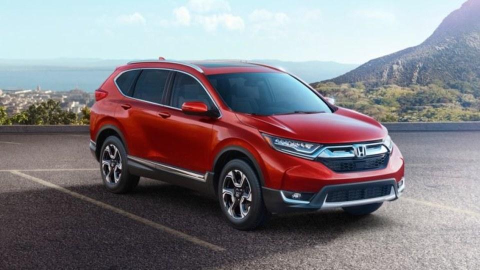 Honda CR-V hybrid unveiled