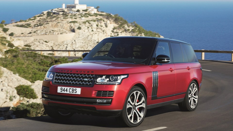Land Rover Updates 2017 Range Rover, Adds New SVO Variant