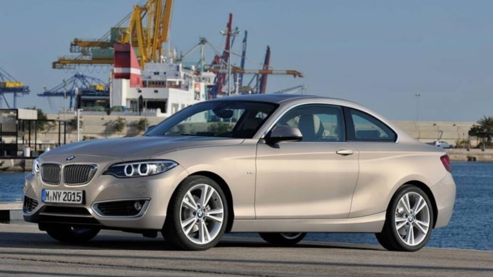 BMW 2-Series coupe.