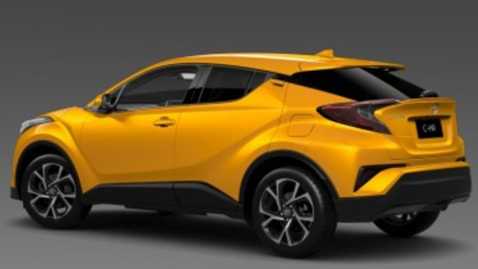 Toyota reveals C-HR details