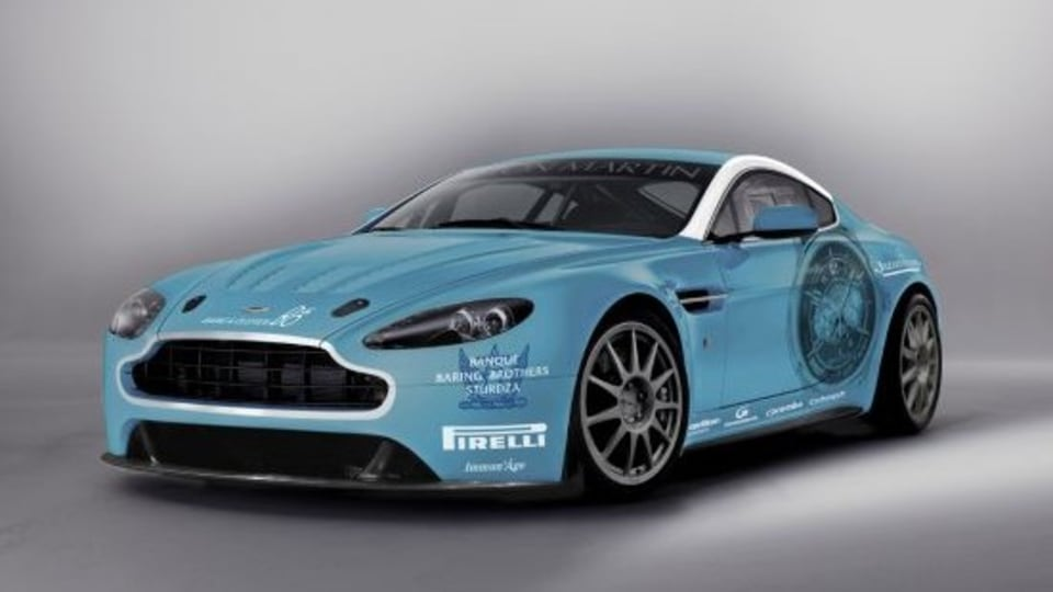 Aston Martin To Contest Nürburgring 24 Hour In 2009 V12 Vantage
