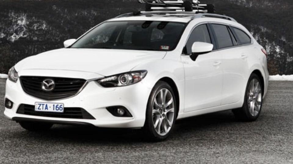 The Mazda6 wagon