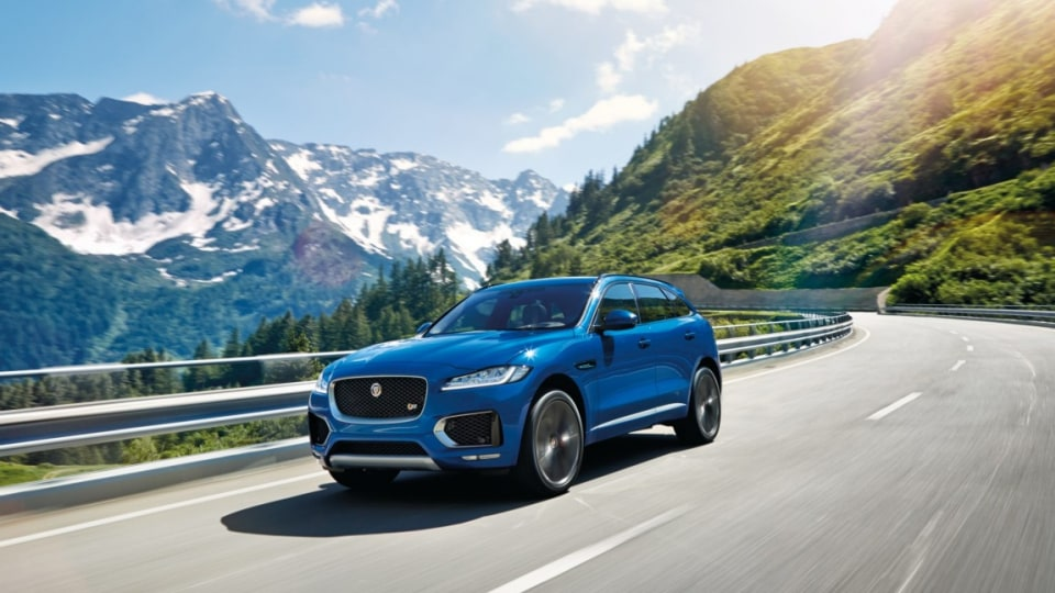 Jaguar F-Pace is the British brand's first SUV.