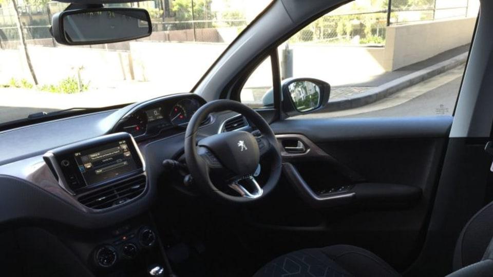 Peugeot 2008 inside