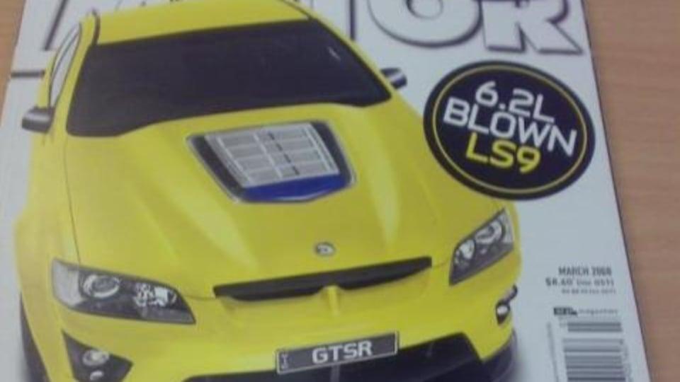 LS9 powered HSV GTS-R - speculation