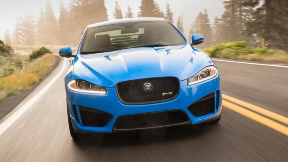 New Jaguar XFR-S.