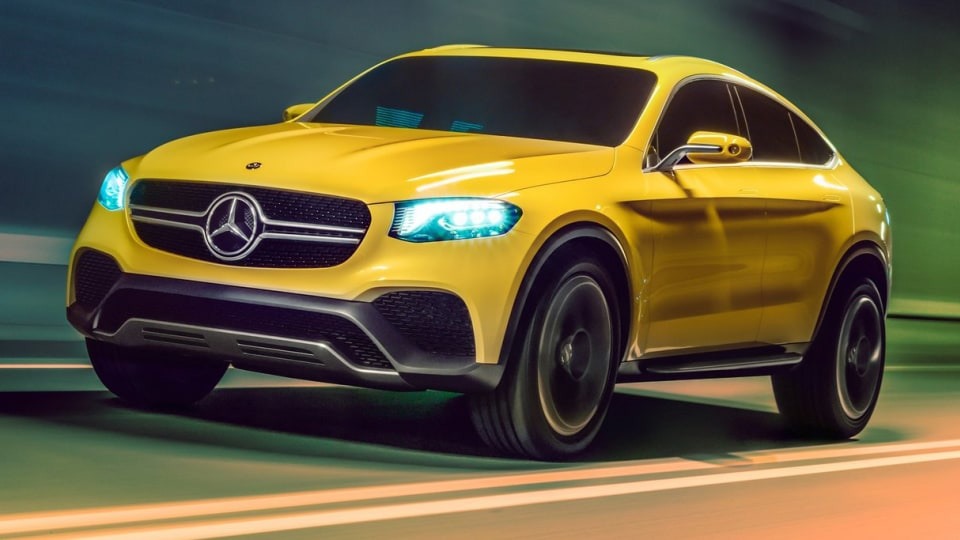 Mercedes-Benz GLC Coupe SUV Concept Revealed In Shanghai