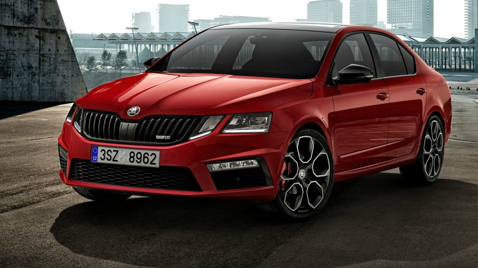 180kW Skoda Octavia Breaks Cover Ahead Of Geneva Motor Show