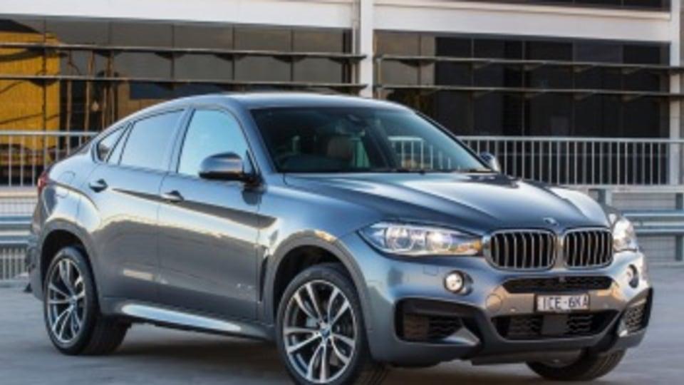 The 2015 BMW X6.