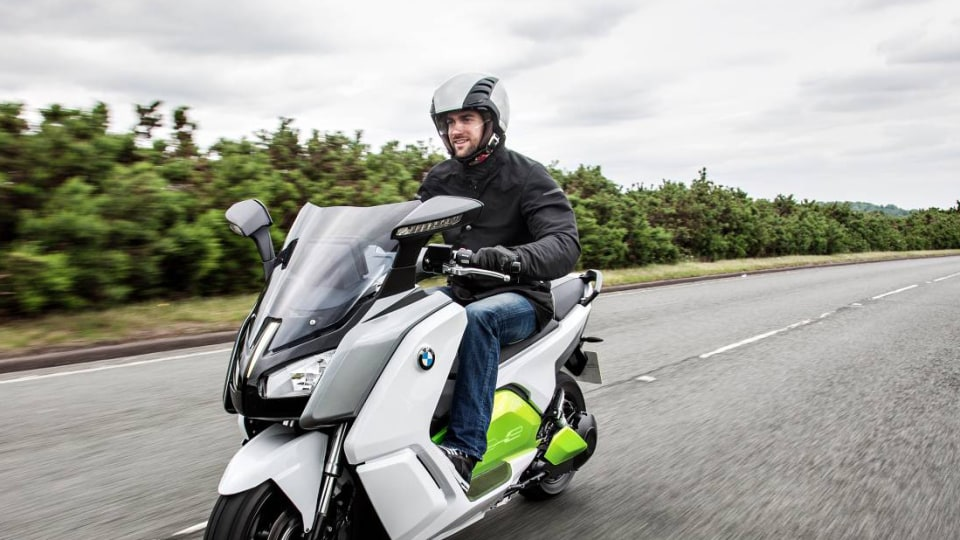 BMW's Evolution C Electric Scooter Concept Teases Production Model