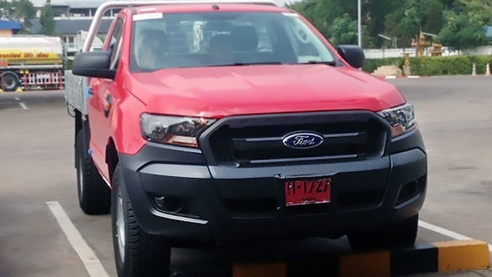 2015 Ford Ranger Facelift Makes A Pitstop In Thailand