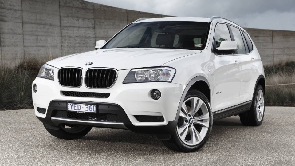 2012 BMW X3 xDrive20i On Sale In December