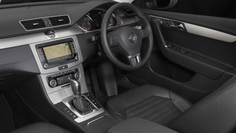 2011 Volkswagen Passat 125 TDI.