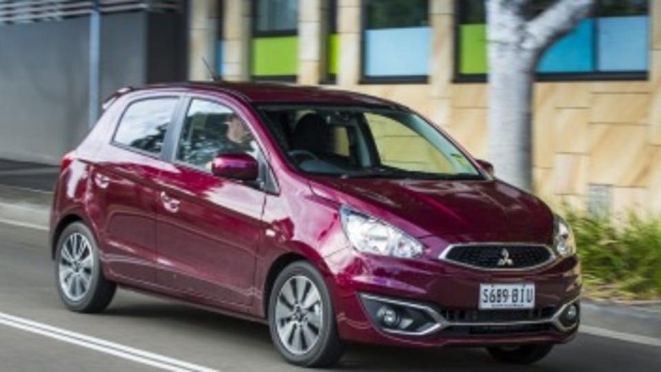 City car comparison: Mitsubishi Mirage