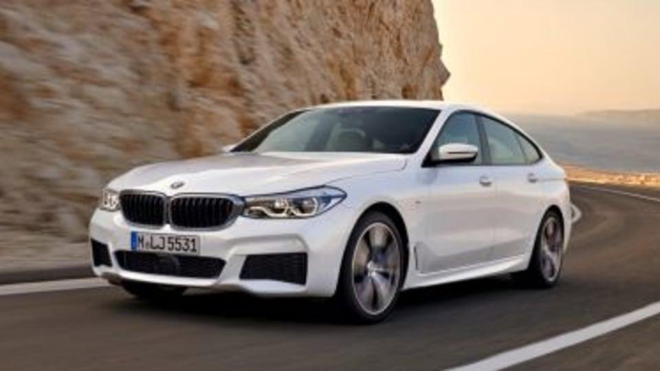 BMW 6er Gran Tourismo, 640i xDrive, Mineralwei?, M Sportpaket 2018 BMW 6-Series Gran Turismo.