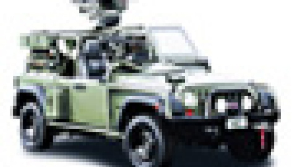 Military drive for Jeep