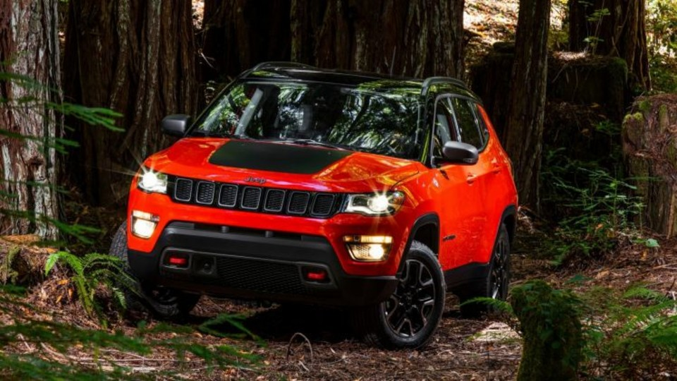 Jeep's all-new Compass features a bolder style.