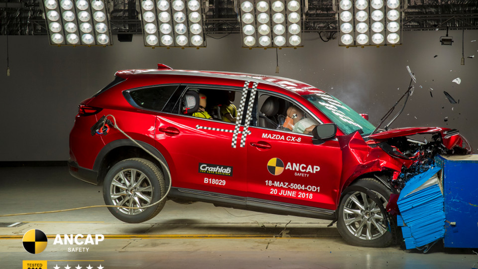 Mazda CX-8 ANCAP crash test