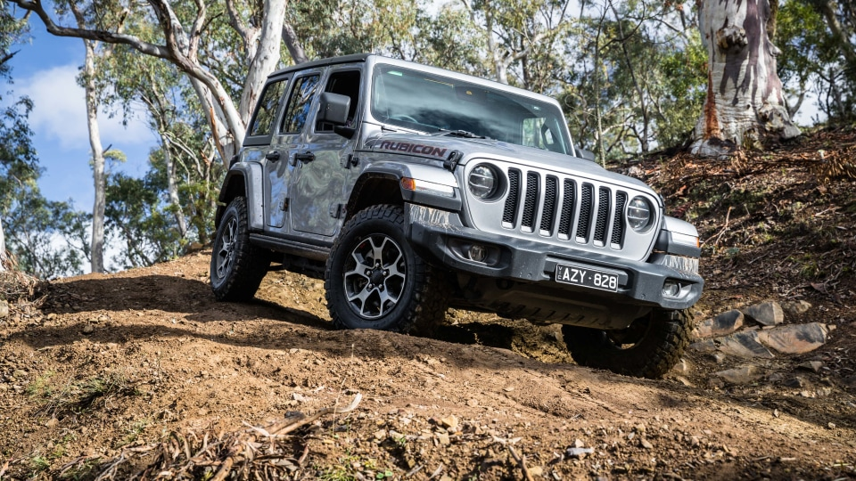 2019 Jeep Wrangler Rubicon off-road review