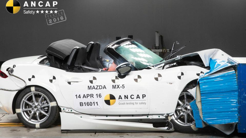 2016 Mazda MX-5 Earns 5-Star ANCAP Safety Rating