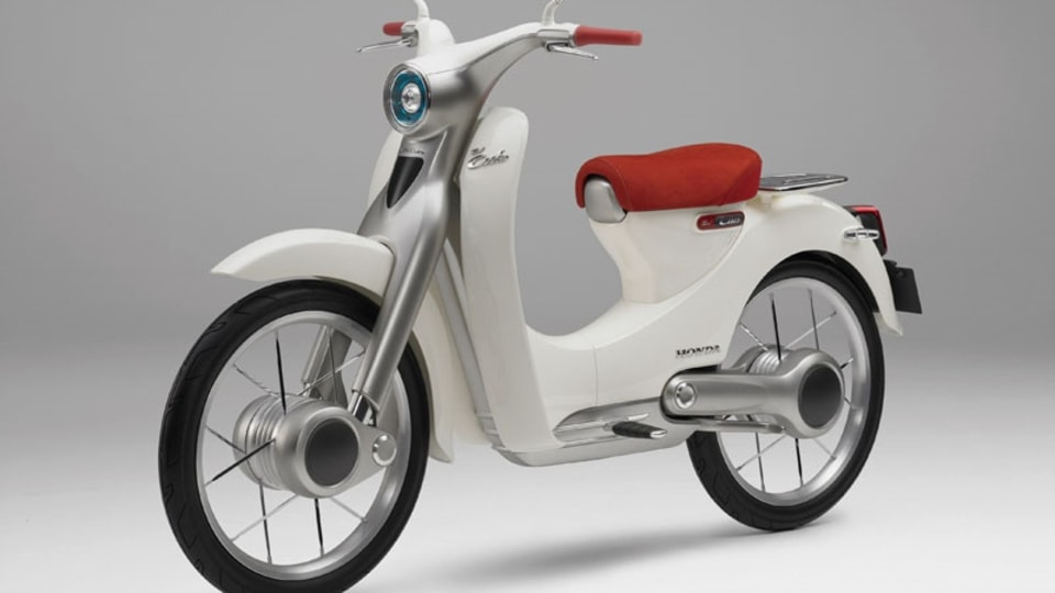 2010 Honda Electric Cub Motorcycle