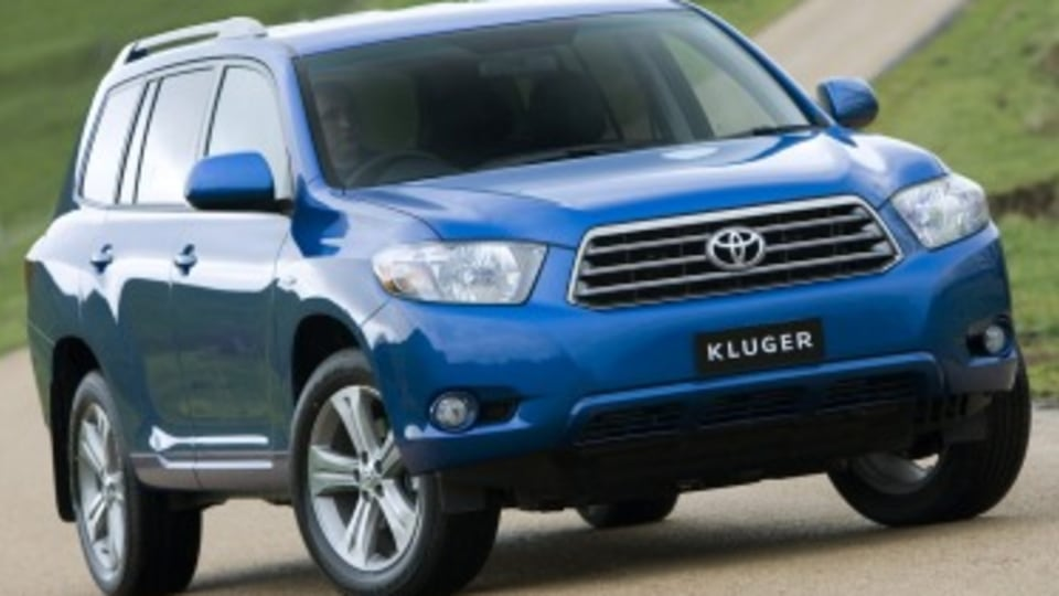 Toyota Kluger used car review