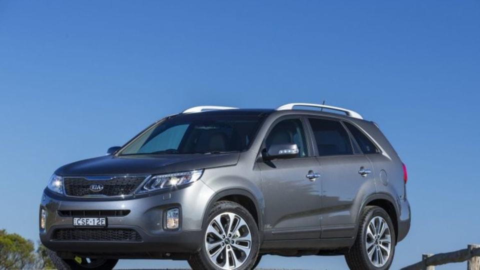 Kia has pared back the driveaway price on its Sorento SUV.
