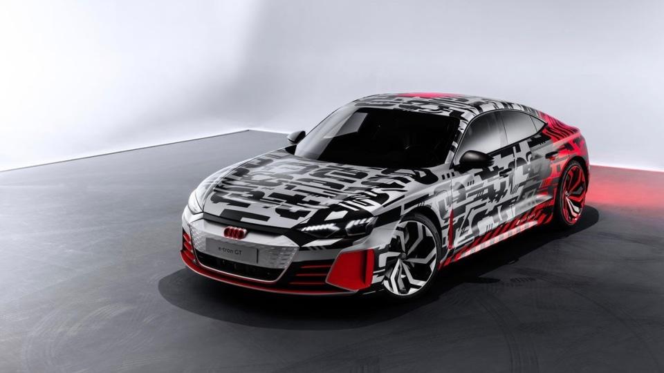 Audi teases e-tron GT