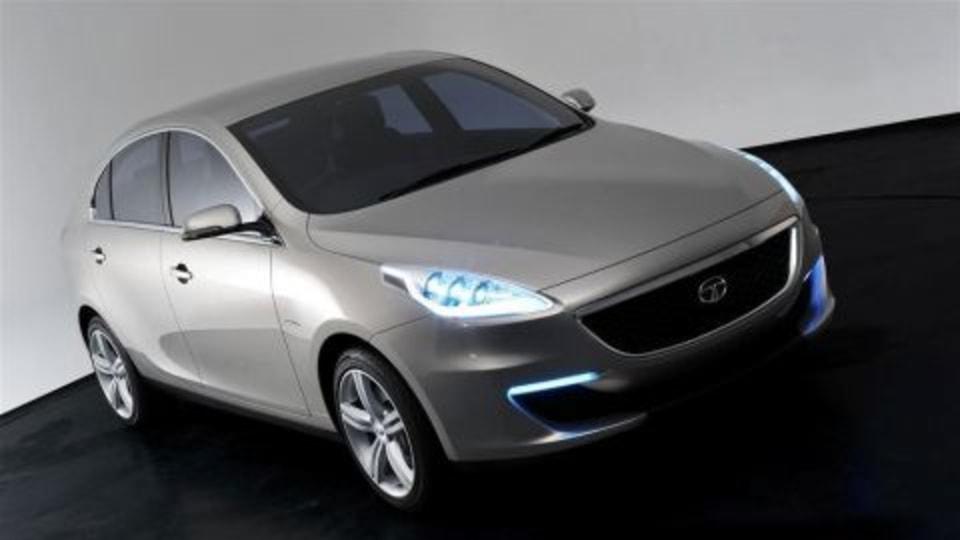 Tata Unveils Prima Sedan At Geneva, Indian Automaker Heading Upmarket?