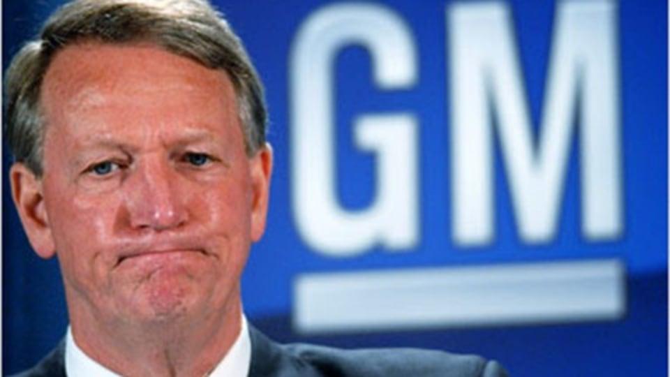 General Motors CEO Rick Wagoner To Step Down?