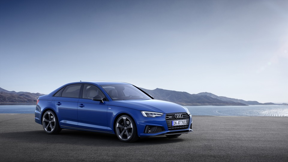 Audi A4 updated with new styling