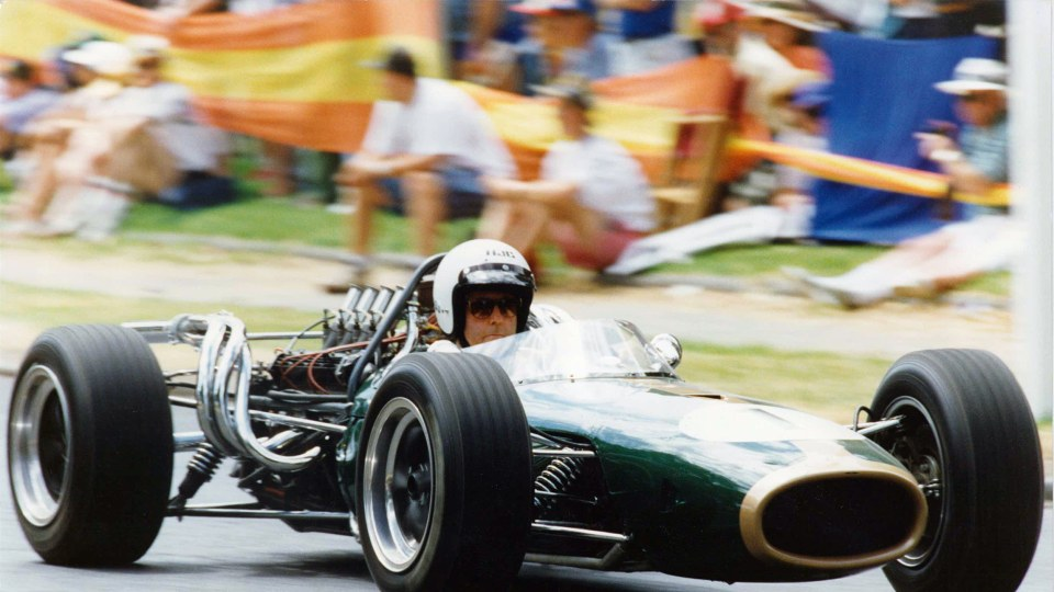 Sir Jack Brabham was the first driver to win a world cahmpionship in his own car.