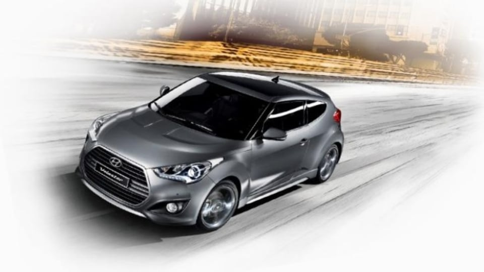 Hyundai has revealed upgrades for its Veloster hatch