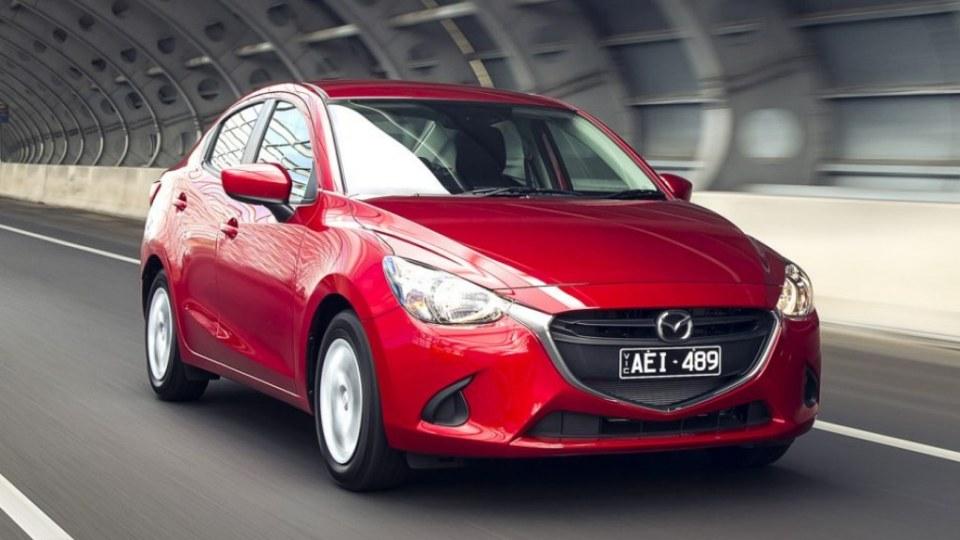 Mazda2 sedan Emabrgo: 12.01AM 21/8/2015