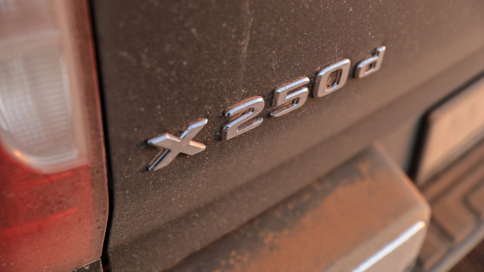 Outback Comparison Test - Mercedes-Benz X250d Power