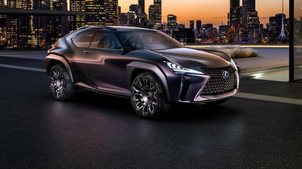 Paris Motor Show - Lexus UX Concept Previews New Premium Compact SUV